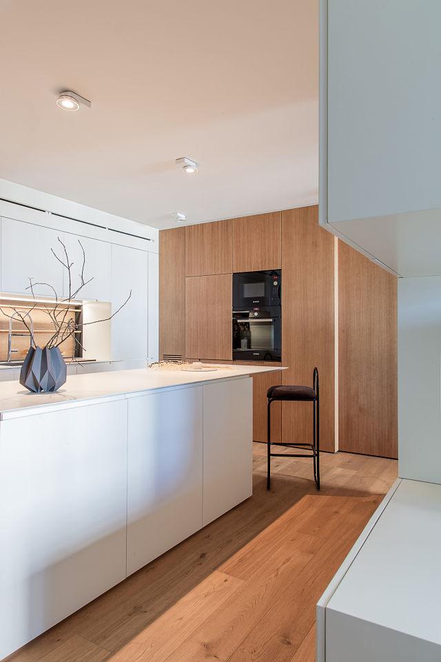 Cocinas de diseño en casas modernas