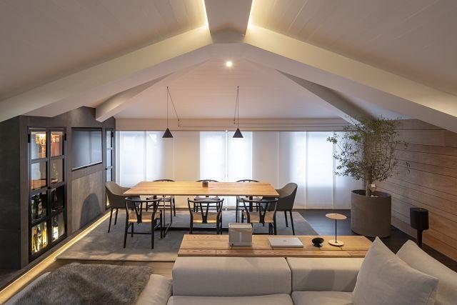 Como decorar una casa abuhardillada de diseño