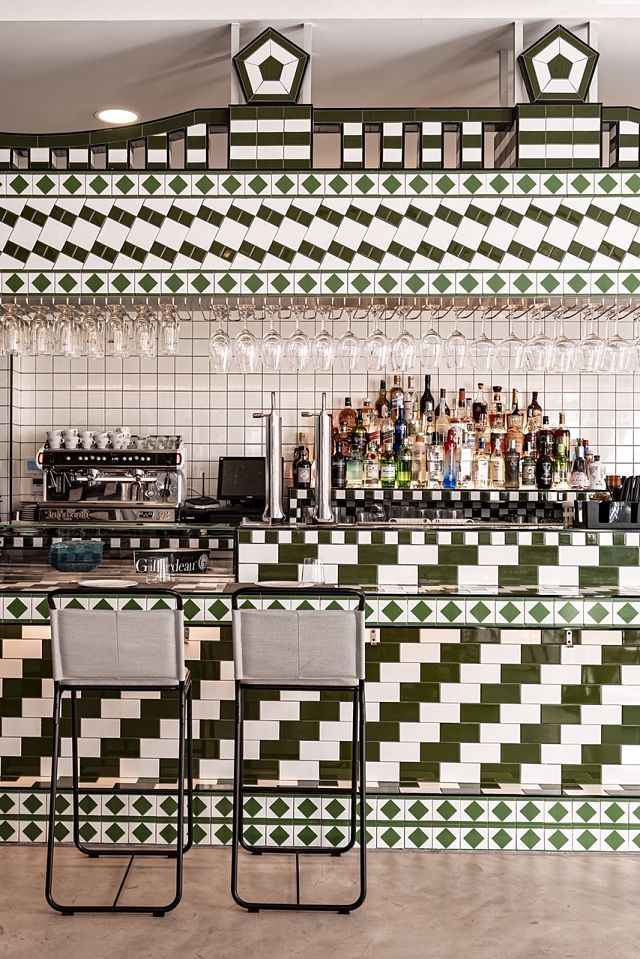 Barra de bar restaurante La Sastrería de Masquespacio