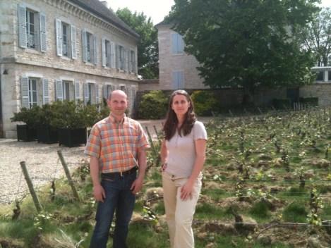 Chateau Chassagne Montrachet Francine Picard & Fabrice Lesne TerroirEvasion.com