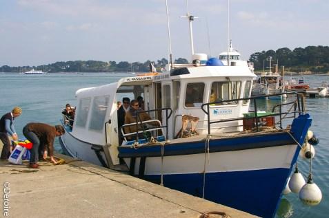 Golfe Morbihan bateau ile aux moines Bretagne