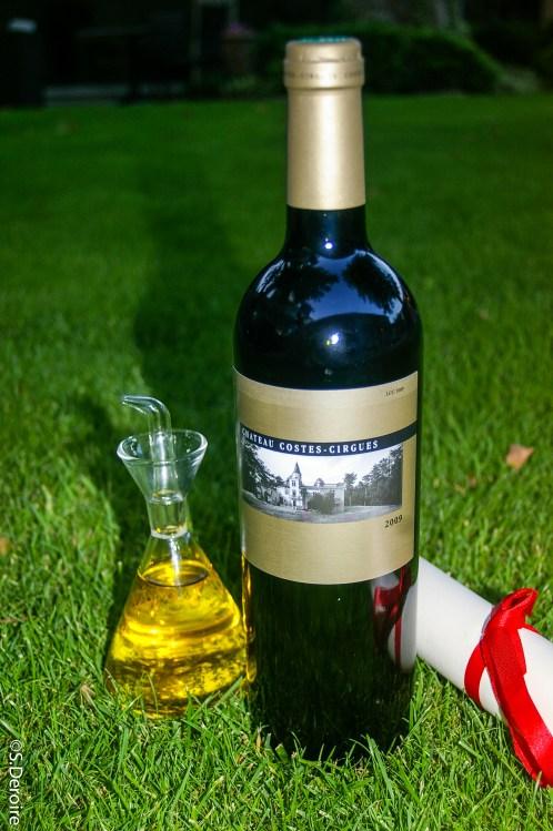 Vin Chateau Coste-Cirgues & huile d'olive @SDeroire, Terroir Evasion