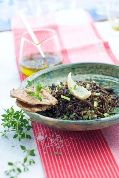 Riz noir fleur de sel camargue