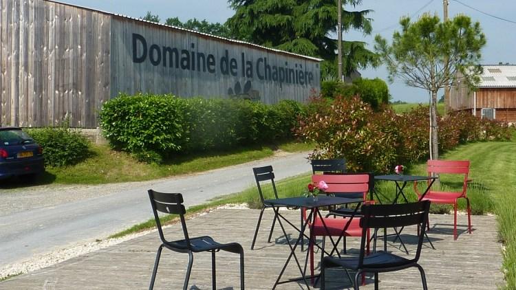Domaine Chapinière accueil