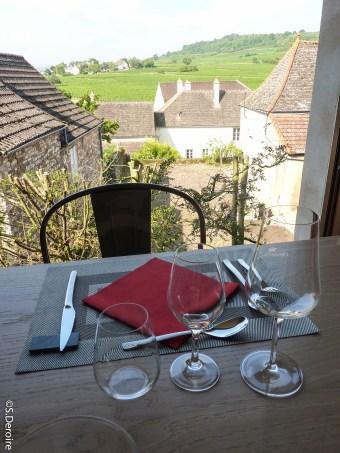 Table d'hotes Mercurey Chateau de Chamirey @SDeroire - Terroir Evasion