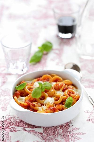 Pâtes Garofalo Cappelletti gratinées à la tomate