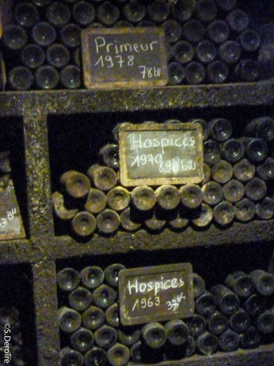 Cave Terres des templiers - Elevage vieux millésimes