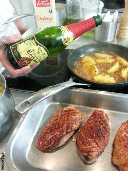 Filets canette cidre Kerisac
