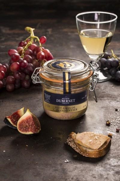 Maison Dubernet Foie gras Entier canard bocal