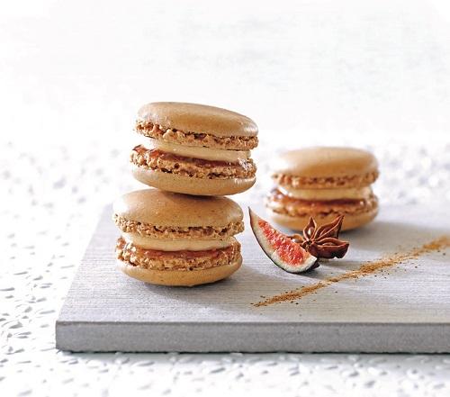Recette Festive Macarons foie gras chutney figues violettes TerroirEvasion.com