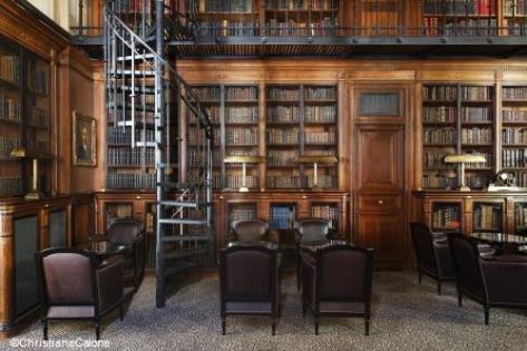 Saint James Paris bibliothèque TerroirEvasion.com