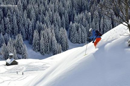 Vallée du Bouchet Le Grand Bornand ® D. Machet TerroirEvasion.com