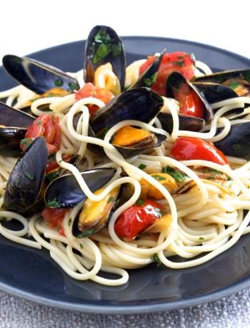 Spaghettis moules alla vongole TerroirEvasion.com