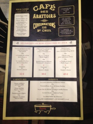carte café des abattoirs TerroirEvasion.com