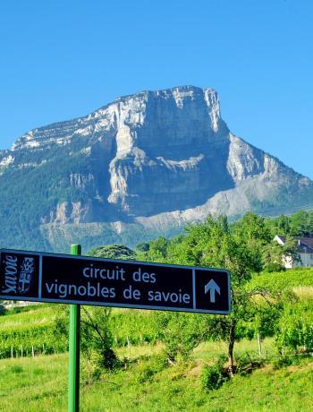 Les vins de Savoie - Carte des circuits des vignobles
