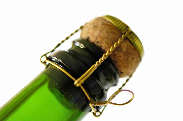 Crémant bouchon vin pétillant de région
