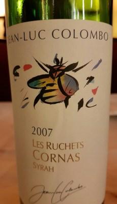 2007 Cornas Colombo Les Ruchets