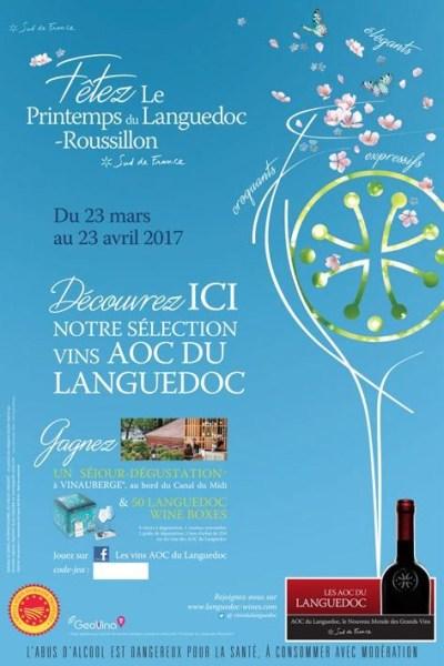 Languedoc-Roussillon printemps 2017