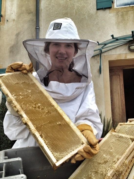 Laure Colombo ruches Arbre aux abeilles Cornas