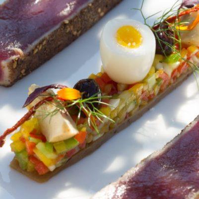 Plat La Réserve restaurant La Voile