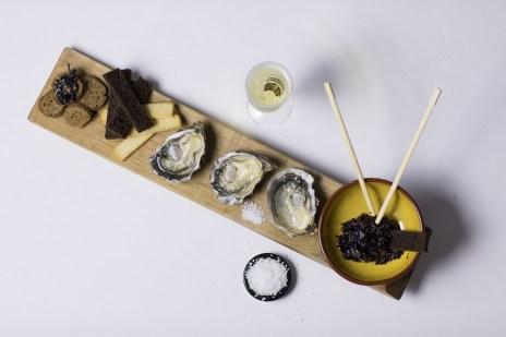 algues nori et huitres charente Maritime