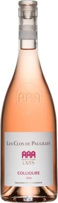 Rosé vin AOP-Collioures -CAZES - Les Clos de Paullilles