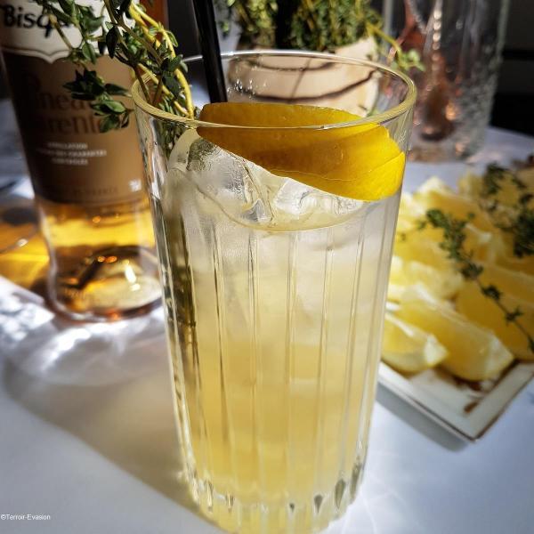 Pineau des charentes cocktail