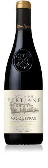 RhonéA -Domaine La Pertiane-Vacqueyras-rouge 2015