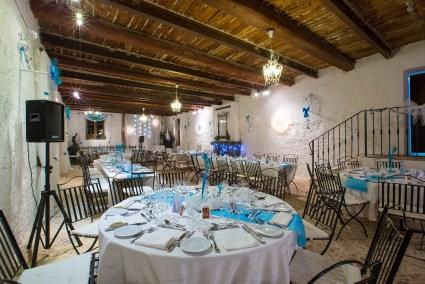 Château de Saint-Martin tables - Gros souper de Noel Salle des Calèches