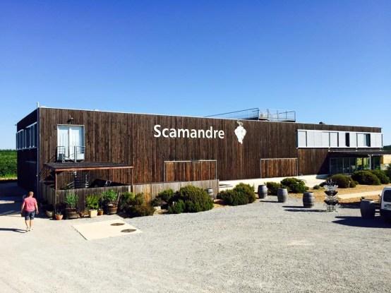 Chais cuverie Scamandre Renouard