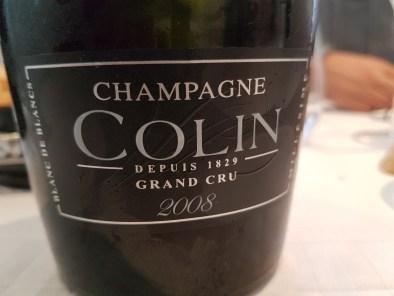 Champagne Colin 1200 Cuvée 2008 blanc de blancs
