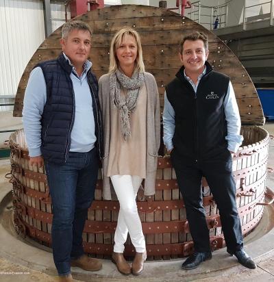 Champagne Colin 1200 pressoir famille