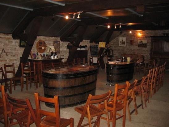 Domaine Petitot Bourgogne Salle de dégustation