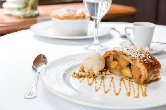 Brasserie Bofinger - Strudel pommes