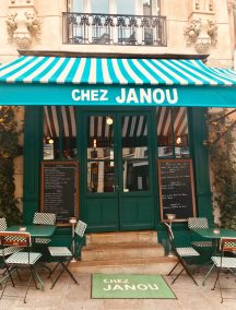 Chez Janou bistrot Paris Entrée