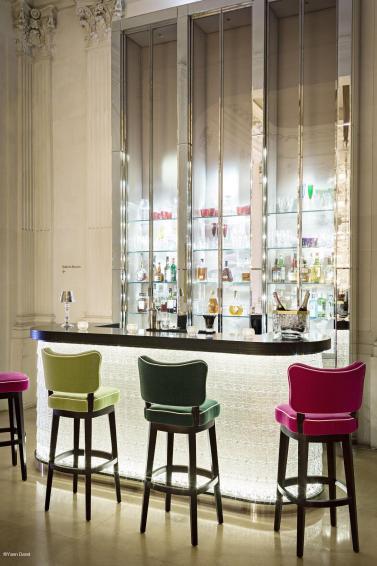 Cristal room Baccarat Bar chaises -®Yann Deretc2i