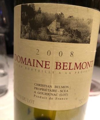 Domaine Belmont vin Jacques Faussat