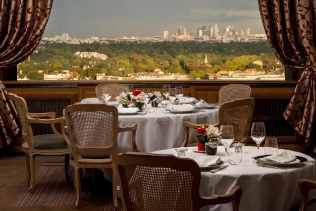 Pavillon Henri IV Table vue panoramique