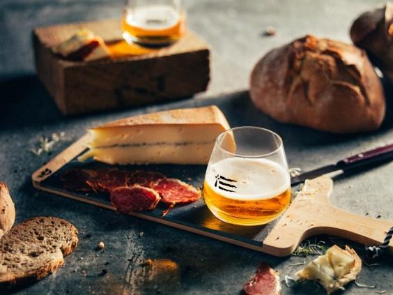 Cidre Loïc Raison - Dégustation planche fromage jambon