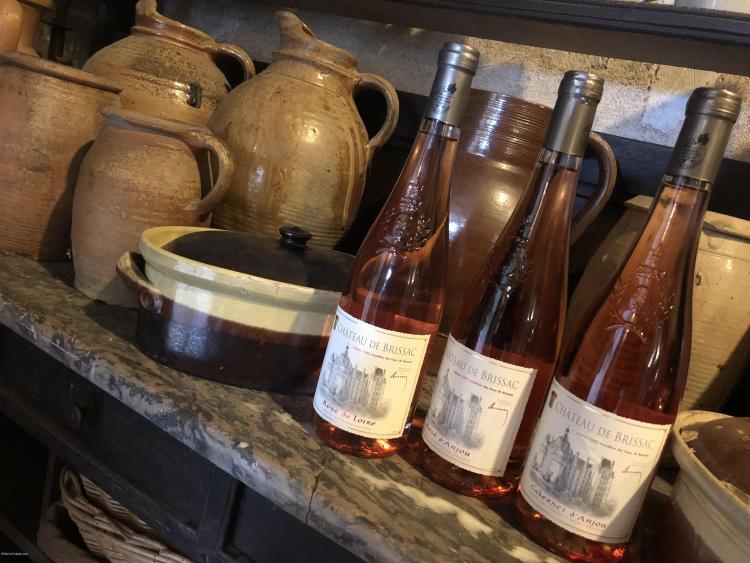 Les vins rosés d'anjou