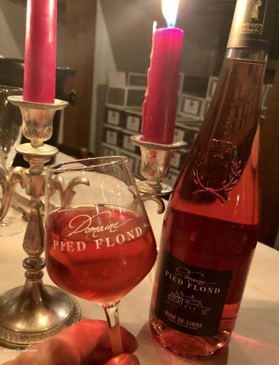 Rosé de Loire- verre -Domaine Pied Flond_c2i