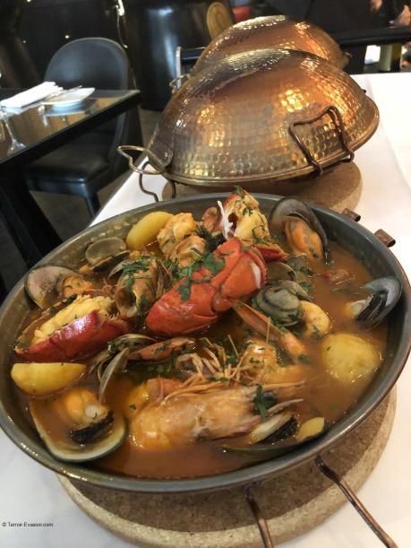Cataplana spécialité Algarve plat cuivre_c2i
