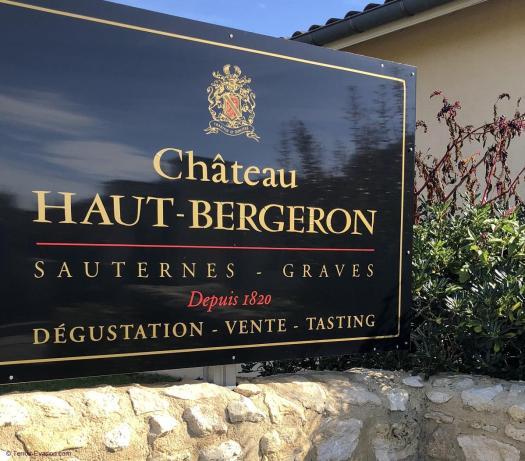 Vinsliquoreux de Bordeaux - Château Haut Bergeron