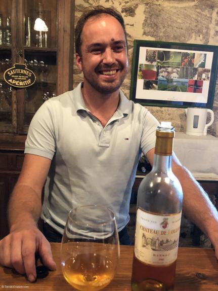 Vins liquoreux de Bordeaux - Château de Rolland - Romain Garcia