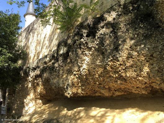 Vinsliquoreux de Bordeaux - Sainte Croix du Mont - Banc d'huîtres fossiles
