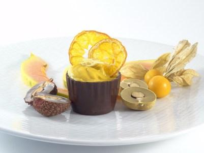 L'Ose et la Manière - Godets en chocolat cru