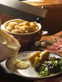 La Raclette au fromage de Savoie