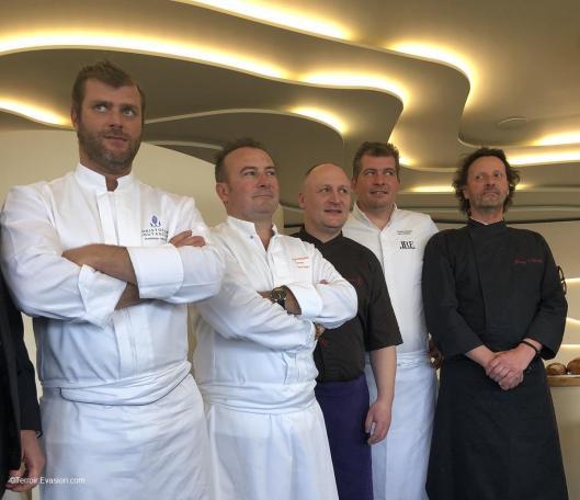 Beurre de Charentes Poitou - Cinq chefs chez Christopher Coutanceau La Rochelle