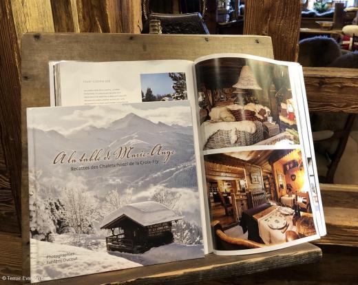 Chalets Hotel La Croix Fry - Livre de recettes signé Eric Guelpa