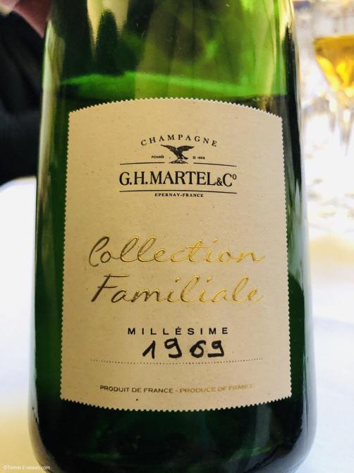 G.H Martel Champagne 1969